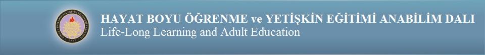 Yaşam Boyu Öğrenme ve Yetişkin Eğitimi Bölümü